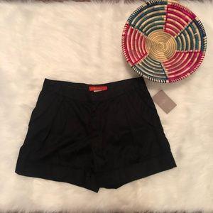 NEW! Anthropologie Black Cartonnier Shorts size 2